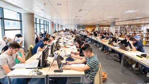 Bâtiment Thomas Hobbes - Gestion Economie - 1er étage