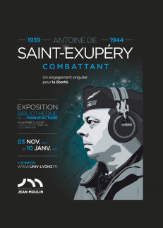 affiche St exupery