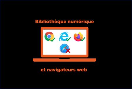 bibliothèque numérique navigateur