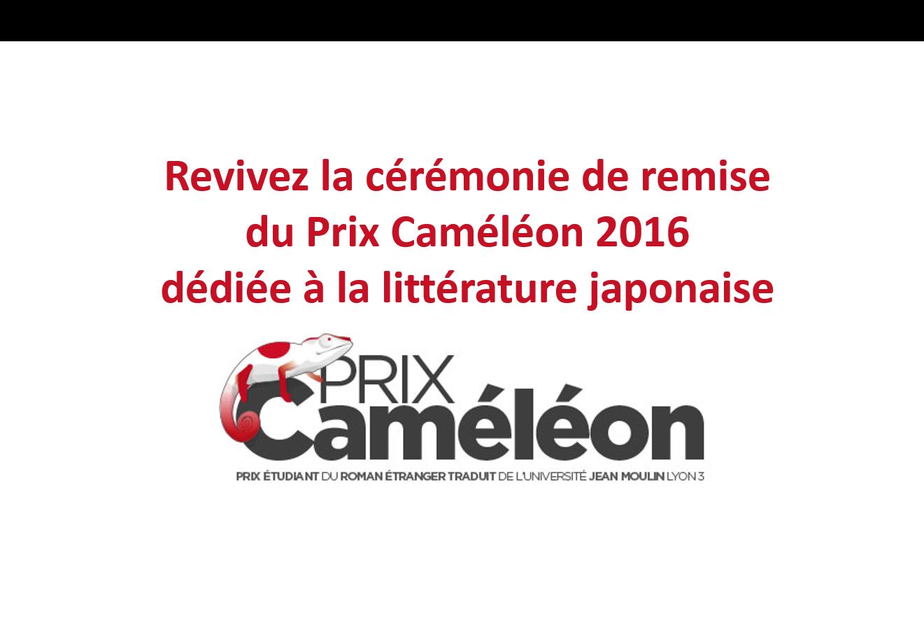 Caméléon 2016