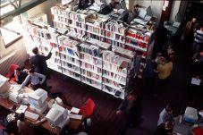 Salle de lecture BRD