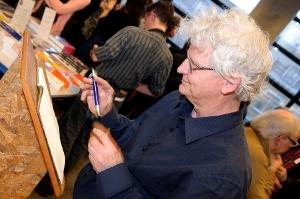 L'artiste Jean-Marc Scanreigh