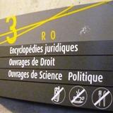 Signalétique SCD Lyon 3 - Droit