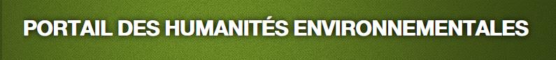 portail des humanites environnementales