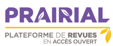 Prairial, plateforme de revues en accès ouvert