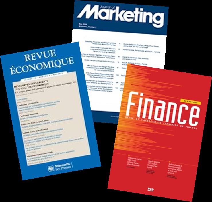 revues economie gestion