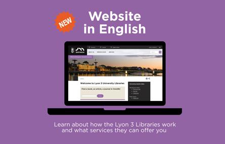 English site web